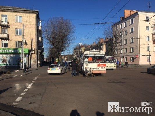 Інвалід, який потрапив у ДТП у Житомирі, знову нехтує правилами руху?