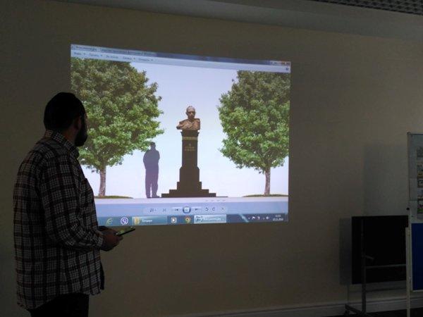 У Житомирі продовжують працювати над майбутнім пам'ятником Степанові Бандері