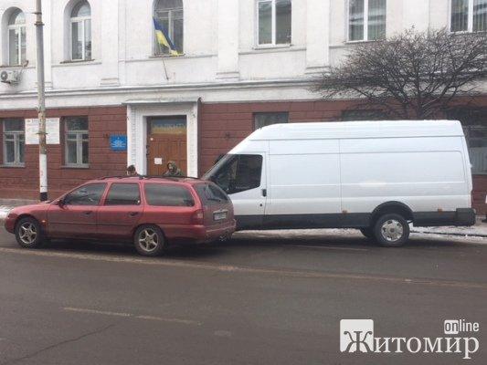 В Житомирі трапилася ДТП на вулиці Великій Бердичівській. ФОТО