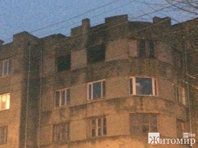 В Бердичеве военный сгорел заживо в крупнейшем пожаре за последние несколько лет. ФОТО