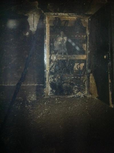 У Житомирі на складі готової продукції трапилася пожежа.ФОТО