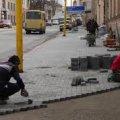 У Житомирі триває реконструкція тротуарів