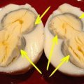Что не так с этим яйцом? Если после варки у тебя аналогичный результат, будь осторожен