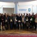 Кращі тренери Житомира отримали нагороди міського голови. ФОТО