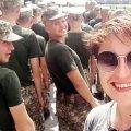 Журналистка ТСН решила на себе проверить, что значит - быть десантником в Житомире. ЭКСПЕРИМЕНТ
