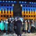 Молитва, лампадки та гімн України: День Гідності та Свободи у Житомирі. ФОТО