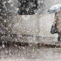 Завтра, 27 ноября, в Украине пройдет снег с дождем