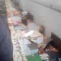 У Коростишеві розтрощили м'ясний павільйон. ВІДЕО