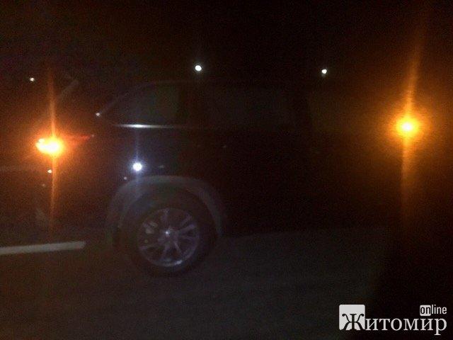 Оприлюднене фото автівки, якою депутат у Тетерівці на смерть збив жінку. ФОТО