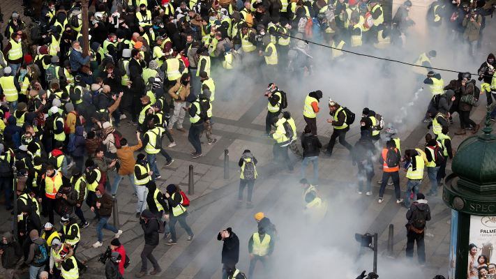 Наши протесты всегда абстрактны. На Западе протестуют конкретно