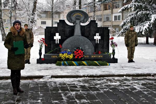 На Житомирщині вшанували учасників ліквідації наслідків Чорнобильської катастрофи