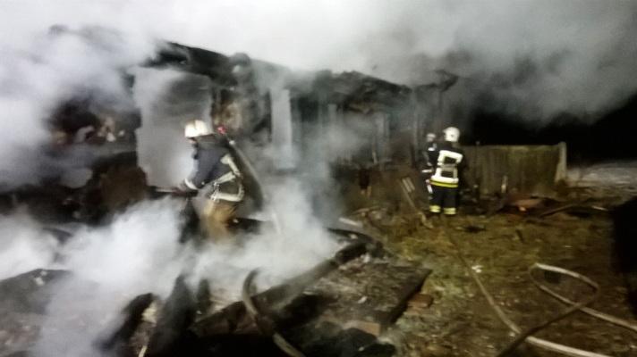 На Житомирщині під час пожежі виявили тіло чоловіка