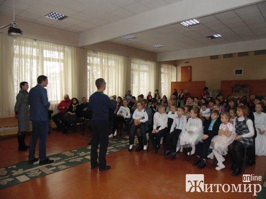 Опозиціонери традиційно взяли участь у новорічних святкових заходах у різних куточках Житомирщини