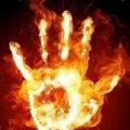 На Житомирщині трапилася пожежа в господарській будівлі