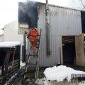 У Бердичеві загорілась прибудова до ресторану