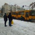 В Житомирі через поламаний тролейбус стався затор. ФОТО