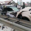 На Житомирщині через масштабну аварію загинув водій, який вийшов з авто. ФОТО