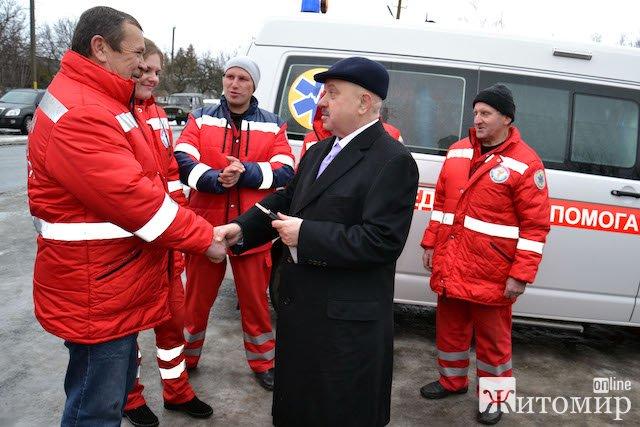 Віктор Развадовський потурбувався про придбання для Миропільської ОТГ сучасної швидкої Volkswagen. ВІДЕО