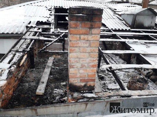 На Житомирщині за добу трапилося дві пожежі в житлових будинках.ФОТО