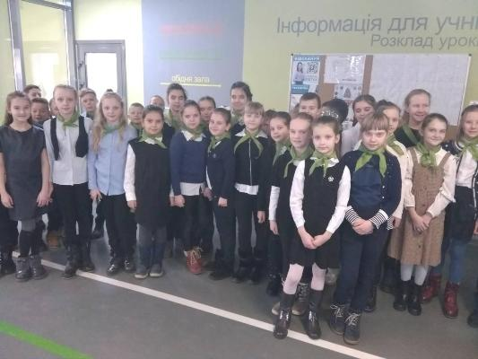21 січня в Житомирській міській гімназії №3 для учнів 1-4 класів відбулося свято Добриків