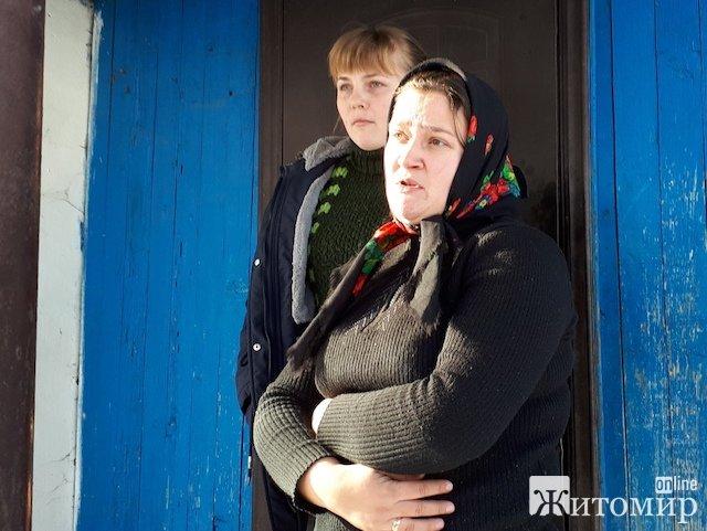 У Ирины Дворецкой из Олевщины не оказалось денег на проезд, и водитель автобуса высадил ее посреди ночи в глухом лесу. ФОТО