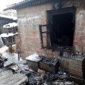 В Бердичеві горіла літня кухня в приватному секторі