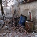 В Коростені трапилася пожежа на території приватного домогосподарства. ФОТО