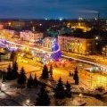 Новорічний Коростень і Новоград-Волинський (місто сяйва та місто-привид). ФОТО