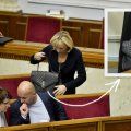 Сумка Ирины Луценко ведет нас напрямую в Европу