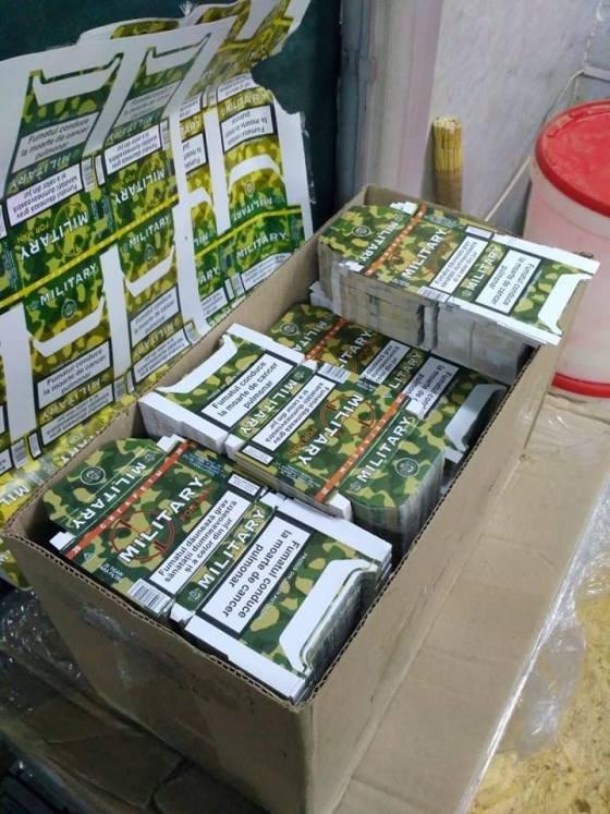 На Житомирщині викрили нелегальний цех з виробництва тютюнових виробів. ФОТО
