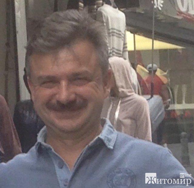 Сьогодні святкує День народження житомирянин Юрій Степура