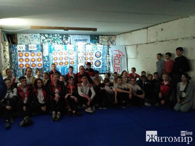 У Житомирі проходять змагання зі стрільби з лука. ФОТО