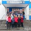 У Житомирі юні поліцейські побували на базі спецпризначенцив. ФОТО