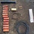 На Житомирщині СБУ затримала торговців вибухівкою