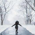Украину заметет снегом