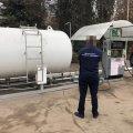 У приміському селі Житомира припинено функціонування нелегальної газової заправки, розташованої на небезпечній відстані від житлових будинків