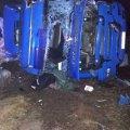 Как в биллиарде. В Житомирской области фура вылетела на встречку и снесла с трассы два грузовика
