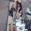 У Радомишльському районі з приватного будинку вилучили зброю та наркотики