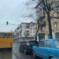 В Житомирі на вулиці Київській трапилася ДТП. ФОТО
