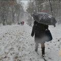 Завтра, 27 февраля, в Украине пройдет мокрый снег