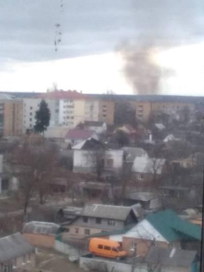 Масштабна пожежа в Бердичеві?. ФОТО