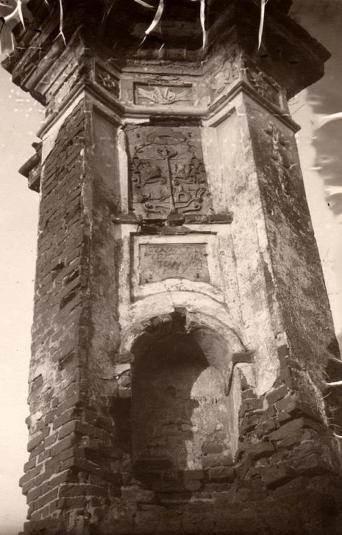 Величний монумент в Овручі в далекому 1755 році. ФОТО