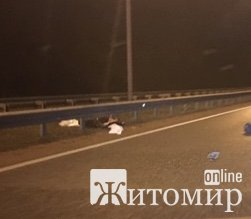 Смертельна аварія в селі Березина на трасі Київ - Житомир. ФОТО