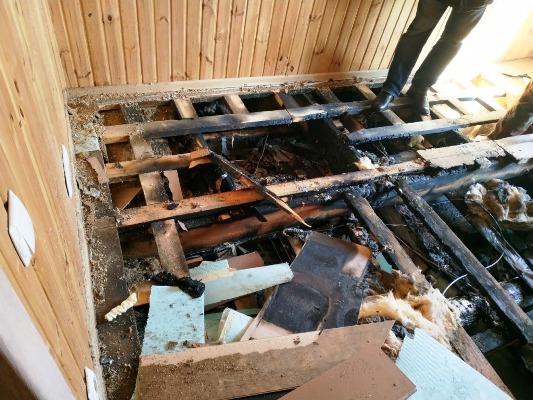 "В Бердичеві трапилася пожежа в ресторані ""Тоскана Гриль"". ФОТО"