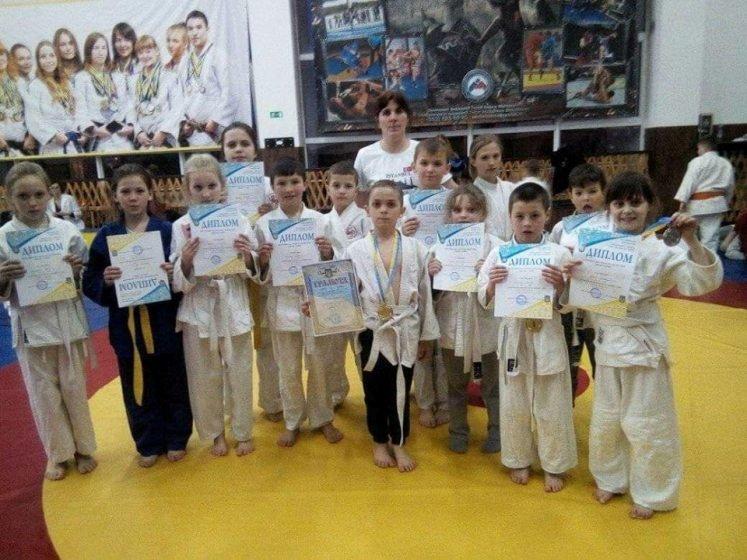 В Житомирі відбулися змагання чемпіонату області з боротьби дзюдо