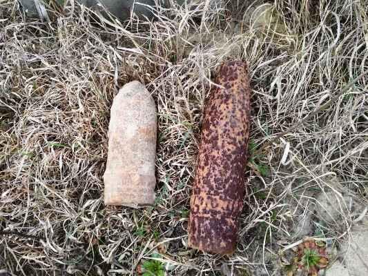 На Житомирщині піротехніки знищили 4 вибухонебезпечні предмети часів минулих війн