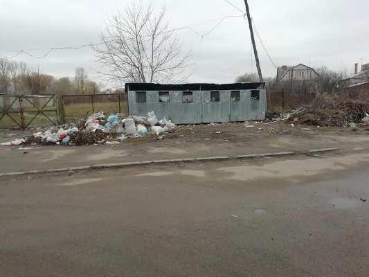 Гори сміття біля дитячого садка у Бердичеві. ФОТО.
