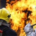 У Житомирі вогнеборці ліквідували пожежу в цеху на Параджанова