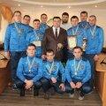 Команда ГУНП Житомирщини перемогла у змаганнях з футзалу