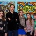 В Житомирі молодий художник презентував виставку картин присвячену кішкам